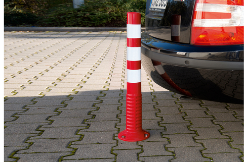 Traffic Posts - can be driven over without causing damage, 3 sizes