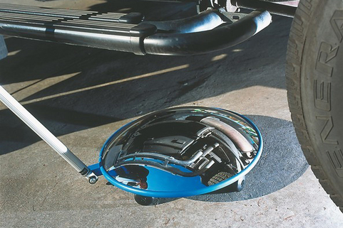 Inspection Mirrors - can be easily extended from 1m to 2m