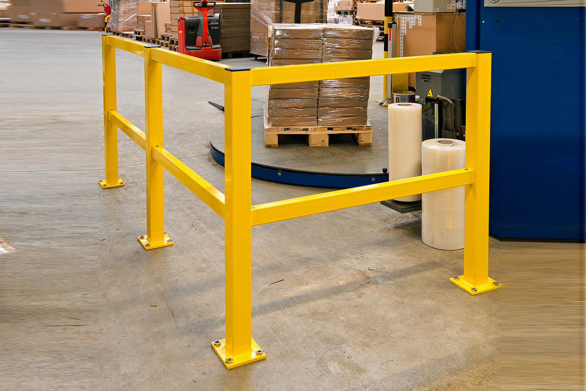 Protection Railing System - Impact Protection Barriers Medium Duty image