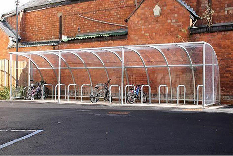 Stratford Cycle Shelter Fully Modular & Easy to  Install
