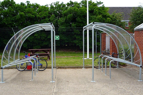 VS1 Bike Shelter - Includes Cycle Stands. Easy to install