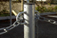Bollards Steel (48-90mm DIA) 750mm above ground - with Eyelets image