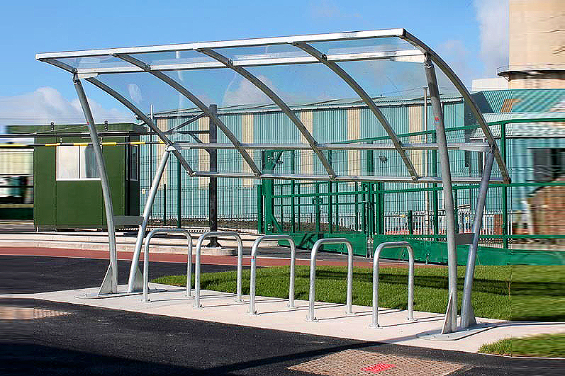 Bowland cycle shelter