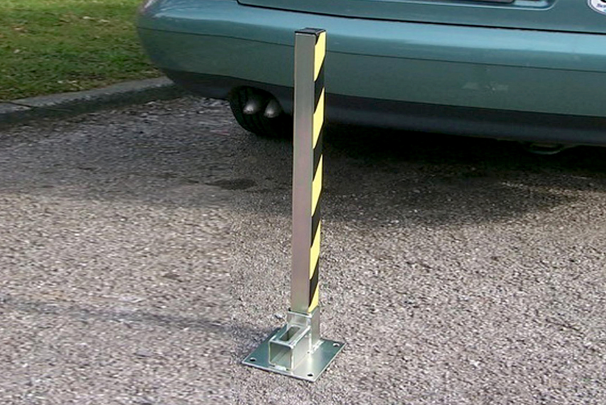 Parking Post Compact & Removable- One of the best value parking posts image