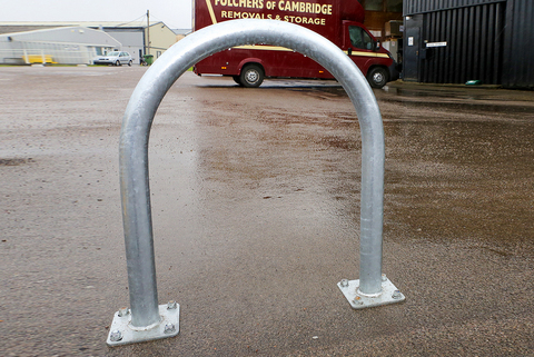 Barriers for Impact Protection - For Lamp Posts And Street Furniture (strong steel fabrication)