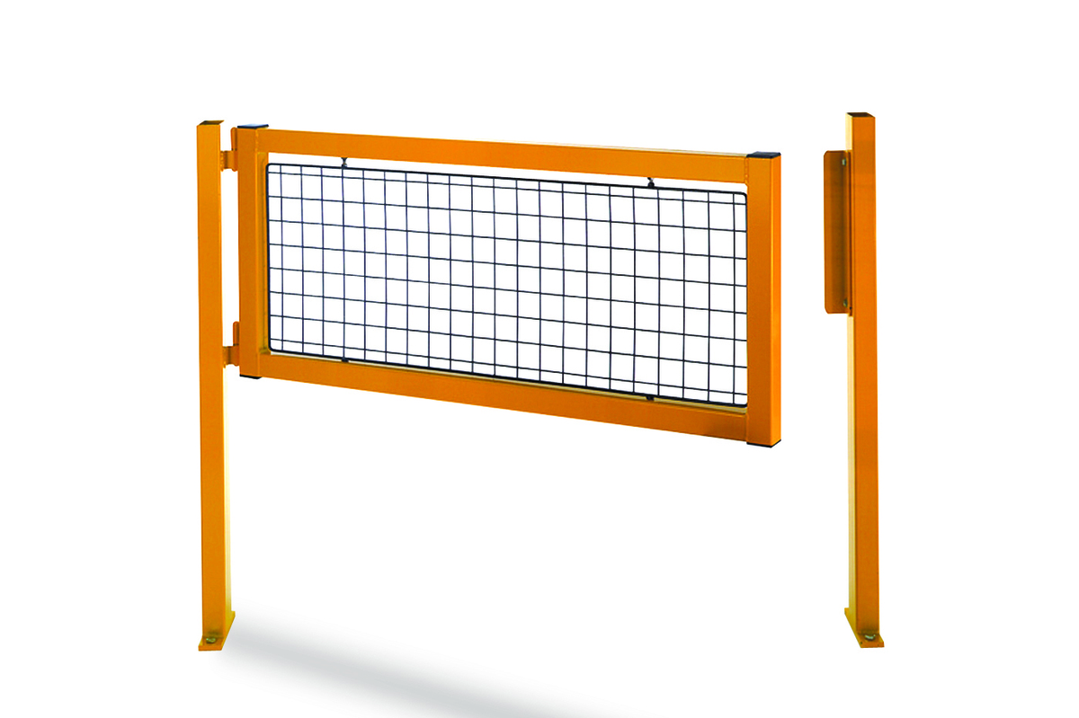 Railing system 's gate - Perfect for defining access to protected warehousing areas image
