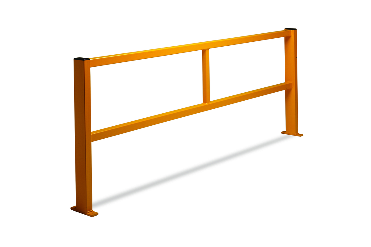 Straight Barrier - Protection around machinery or defining walkways in the warehouse image