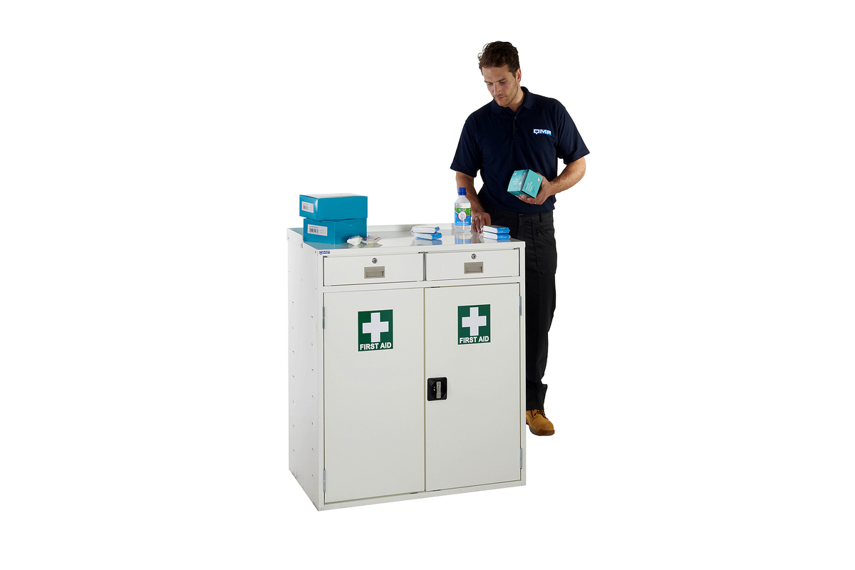 First Aid Workstations Ideal For Storing First Aid