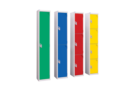 Lockers for wet areas- 6ft tall -1/2/3/4 compartment - Ideal for swimming pools, changing rooms, saunas, gyms etc
