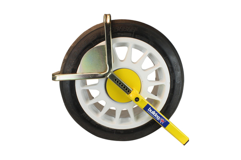 Wheel Clamp-BULLDOG AUTOCLAMP- FOR tyre widths of 145 - 205mm & tyre diam of 480 - 640mm