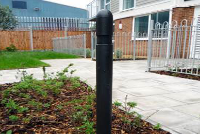 Plastic Posts marker. Suitable for delineating between areas