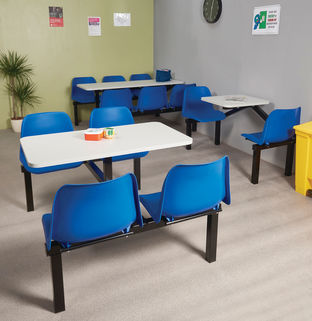 Canteen Furniture-seat and table combined