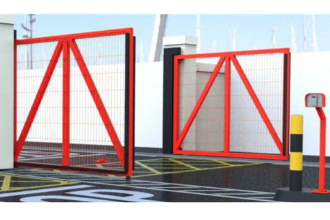 Automatic Swing Opening Gates