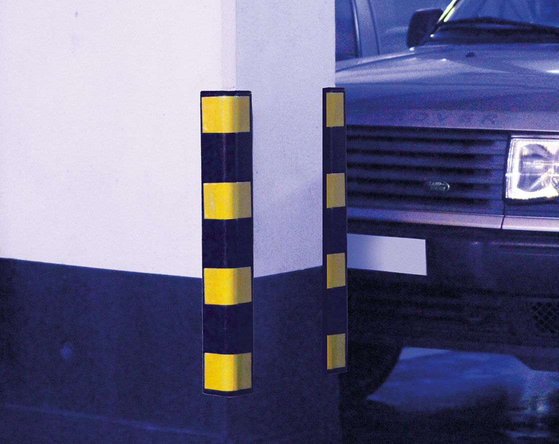 Corner wall Protectors - Rubber - Easy to install image