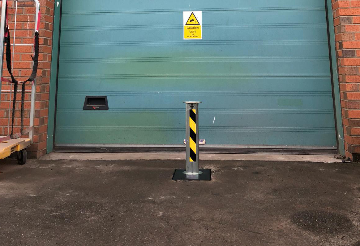 Telescopic Posts Anti Ram Raid  - Very Tough and Effective image
