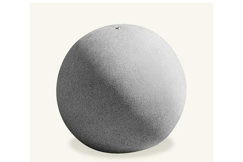 Bollard in Concrete-Monoscape Spherical 500 Bollard ideal to be used as part of a coordinated hard landscape scene