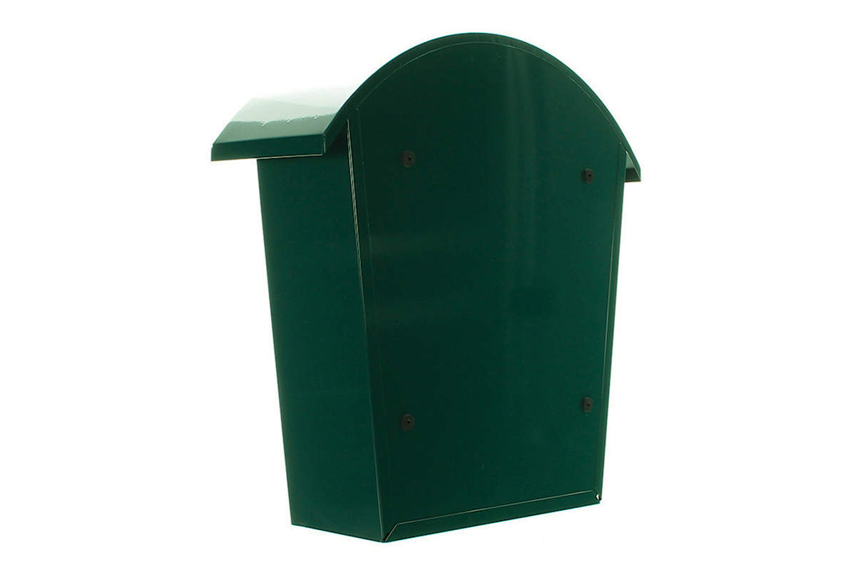 Mailbox Posting from from. Galvanised to guard against rusting. image