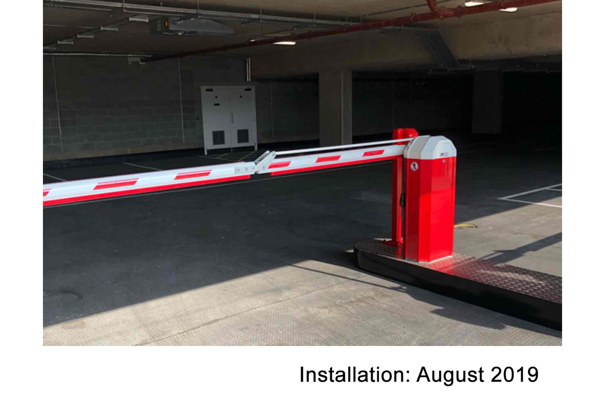 Automatic Rising Arm Barrier Solutions   Barriers Direct